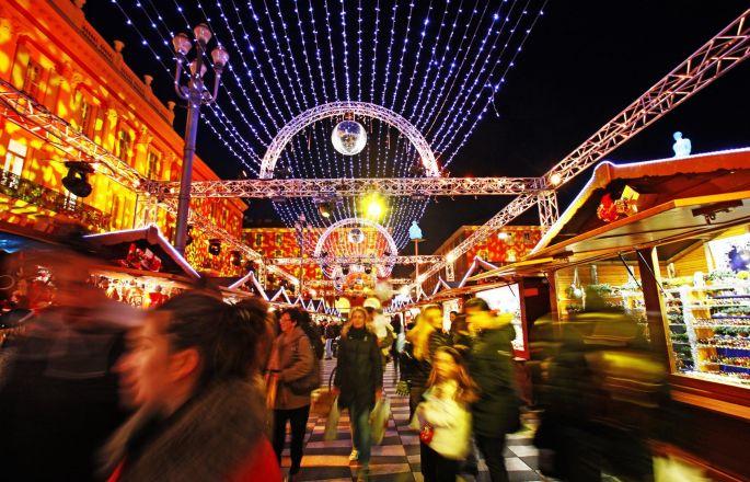 Village de Noël à Nice  et programme des animations