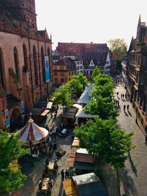 Le village de Pâques à Strasbourg