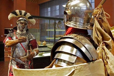 Armures romaines du musée Vindonissa