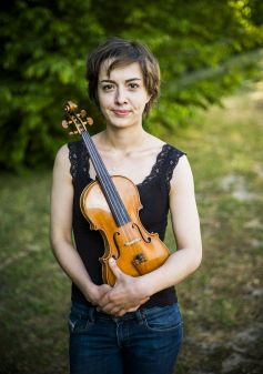 La violoniste Charlotte Juillard