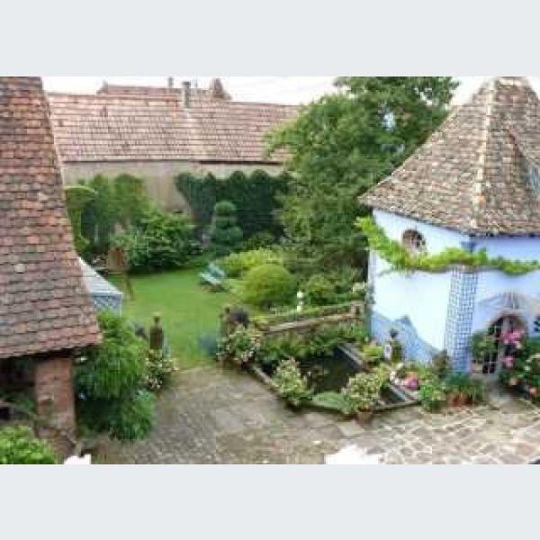 Les jardins de la ferme bleue uttenhoffen visite guid e for Au jardin de la nymphe bleue