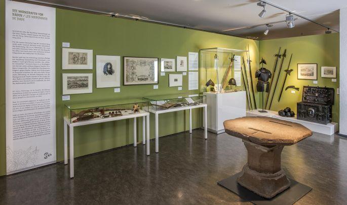 Visite guidée de l'exposition sur le château de Rötteln au musée des Trois Pays