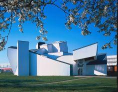 la façade du Vitra Design Museum à Weil am Rhein