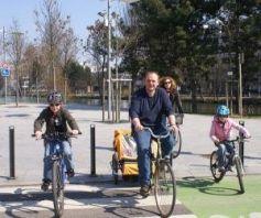 Vélo en ville à Mulhouse