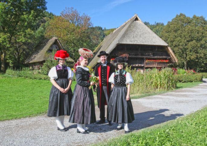 L'écomusée du Vogtsbauernhof en Forêt Noire
