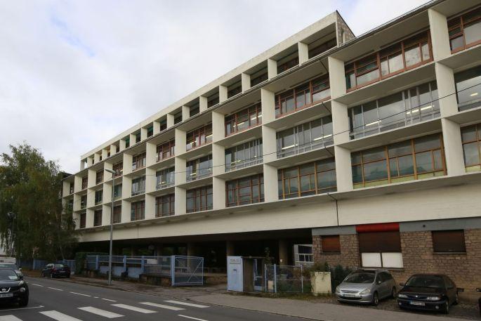 Voir un bâtiment de le Corbusier