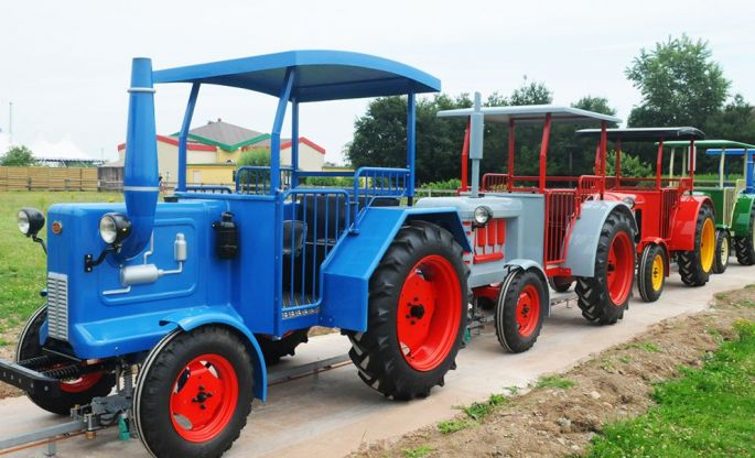 Montez à bord des Tracteurs de Hansi