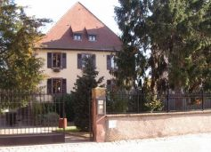 Vue extérieure de la Médiathèque de Soultz