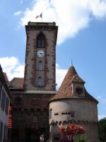 La Tour Carrée du Château, symbole de Wasselonne