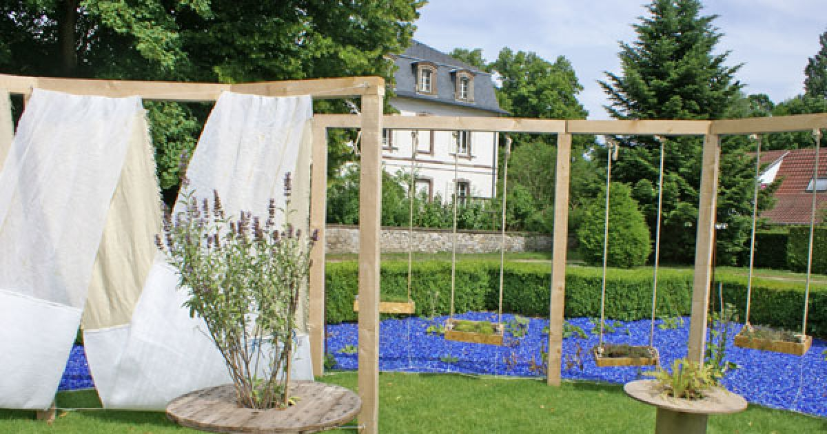 festival des jardins m tiss s jardin des 6 sens au parc de wesserling saison 2009 husseren. Black Bedroom Furniture Sets. Home Design Ideas
