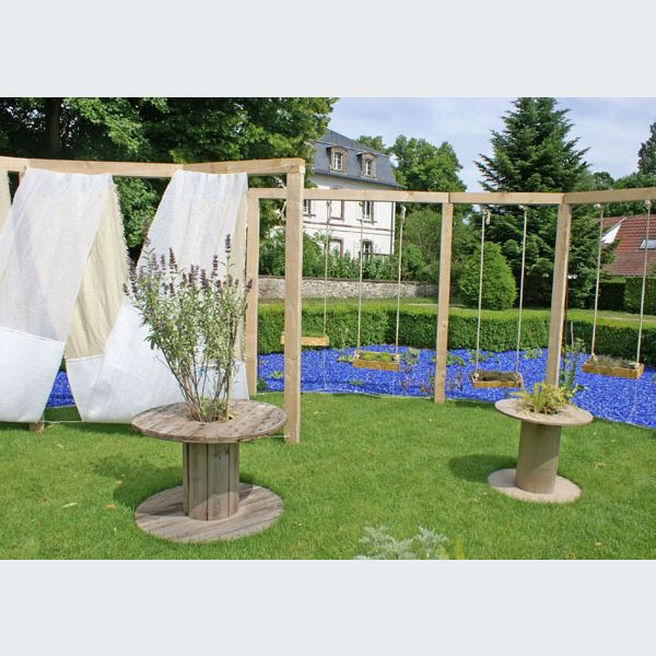 Festival des jardins m tiss s jardin des 6 sens au parc for Jardin wesserling