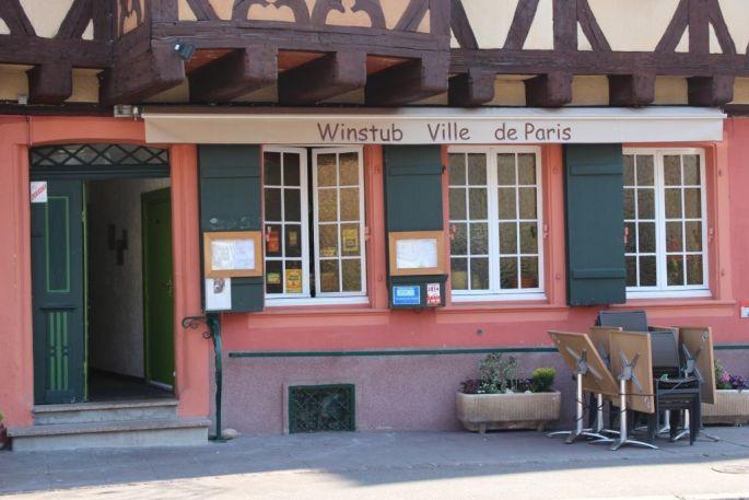 Winstub A la Ville de Paris - Colmar