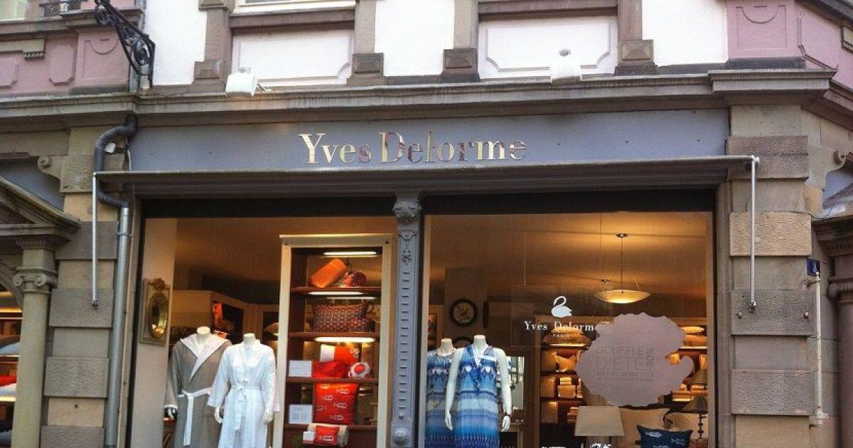 Yves delorme colmar linge de maison - Delorme linge de maison soldes ...