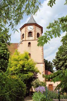 Le village de Zellenberg est un peu moins touristique que les villages voisins, pourtant il ne manque pas de charme.