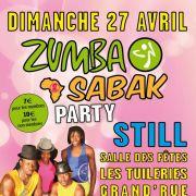 Zumba & Sabak Party